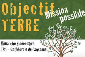 Stop Pauvreté - 6 décembre - Lausanne