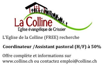 Offre d'emploi La Colline