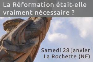 Réformation Rochette 500 ans