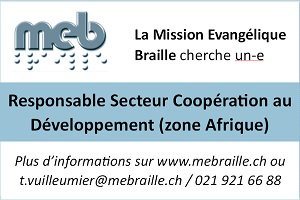 Mission braille - Afrique 2018