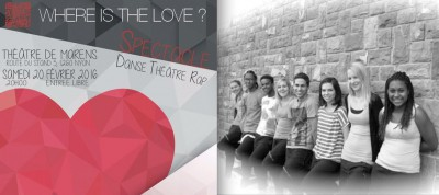 Le spectacle « Where is the Love ? » tourne en Suisse romande
