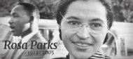 """En lien avec le film """"Selma"""": « Rosa Parks (1913-2005) : """"Elle s'est assise pour que nous puissions nous tenir debout"""" » par Gabrielle Desarzens"""